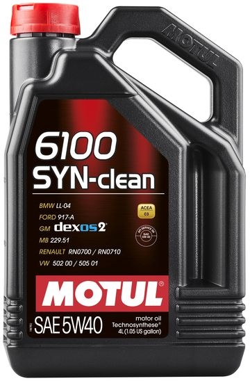 6100 SYN-CLEAN SAE 5W40 (4L)/107942